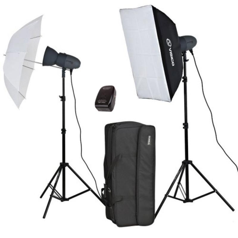 Visico VL-400 plus Softbox Studio Lighting Kit