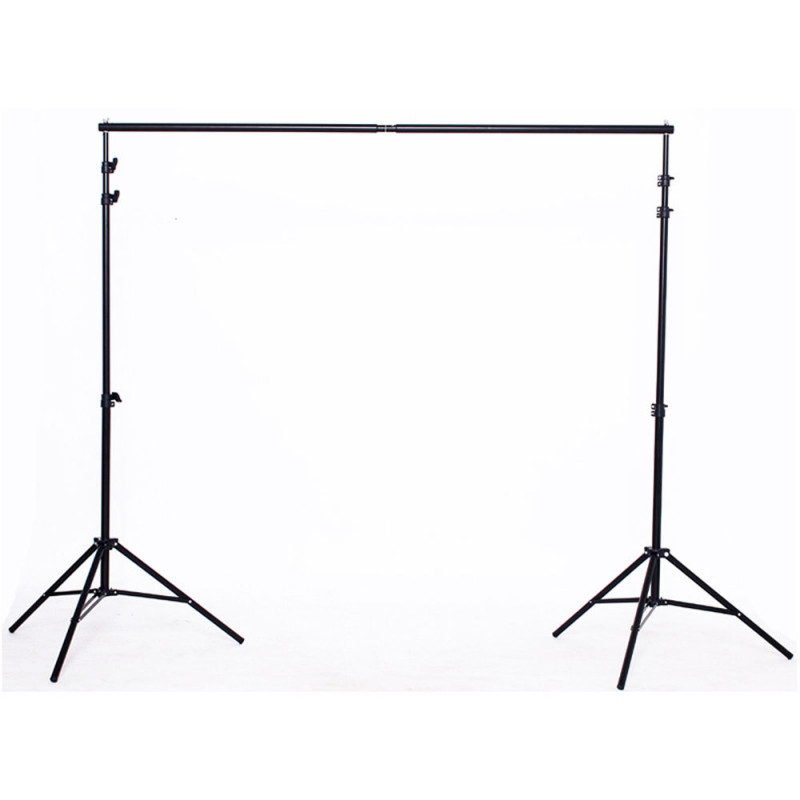oem - IRiSfot 2.8x3m Photo Studio Background Support Stand Kit