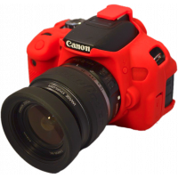 EasyCover camera case για Canon 1300D / 2000D RED