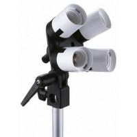 Linkstar Lamp Holder LH-4U + Umbrella Holder + Tilting Bracket [564075]