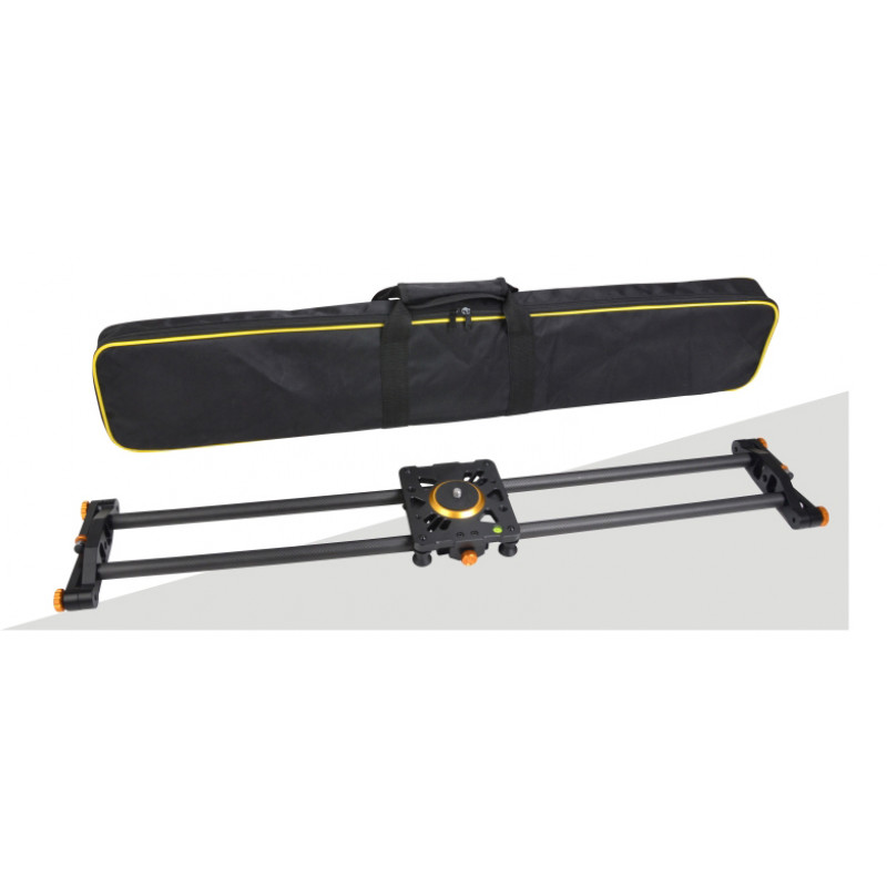 E-Reise Camera Slider (CARBON FIBER) - 100cm + Θήκη [ TS-0310]