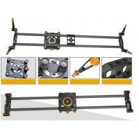 E-Reise Camera Slider (CARBON FIBER) - 80cm + Θήκη [ TS-0380]