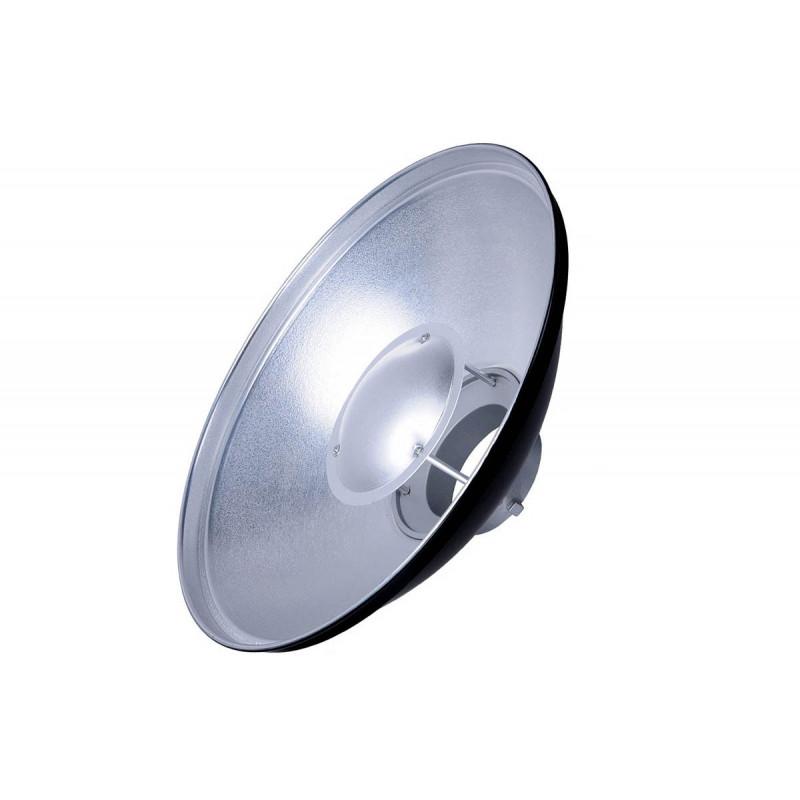 Godox Beauty Dish Silver 42cm - Bowens mount