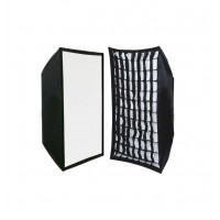 oem- IRiSfot Softbox με Grid για φλας 60X90cm Bowens Mount
