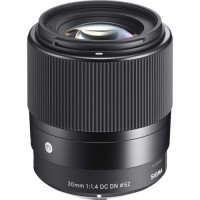 Sigma 30mm f/1.4 DC DN Contemporary Lens for Canon EF-M [302971]