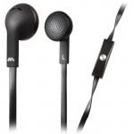 Meliconi MySound SpeakFlat Earphones with microphone Black [497394]