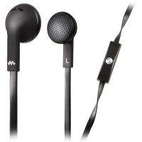 Meliconi MySound SpeakFlat Earphones with microphone Black [497394]