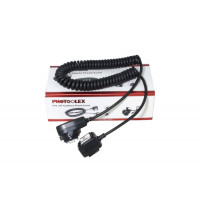Photoolex FT02 TTL Off-Camera Hot Shoe Cord for Canon
