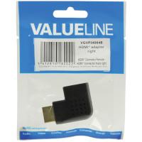 VALUELINE Αντάπτορας HDMI αρσ. - HDMI θηλ. σε γωνία (δεξιά) 34904B