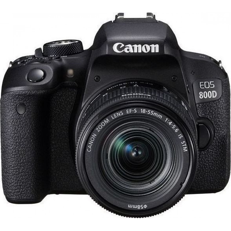 Canon EOS 800D Kit & EF-S 18-55mm f/4-5.6 IS STM
