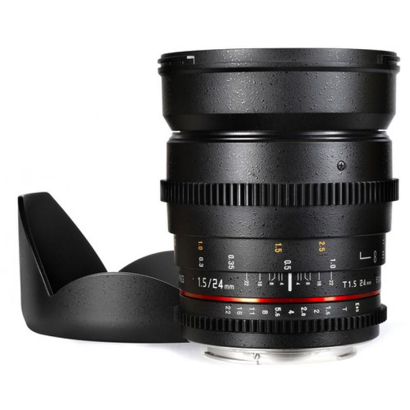 Samyang 24mm T1.5 ED AS IF UMC II VDSLR for Sony E mount