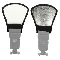 AccPro Reflector Flash Diffuser Silver/White [LS-28]