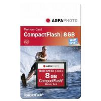 AgfaPhoto CompactFlash Memory Card 8GB CF  233x