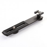 AccPro Camera Bracket Holder with Hotshoe Mount [LS-15]
