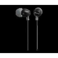 Sony MDR-EX15LPB Ελαφριά ακουστικά-ψείρες - Black
