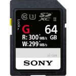 Sony Κάρτα μνήμης SF-G64 SDXC 64GB U3 σειράς SF-G UHS-II