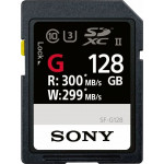 Sony Κάρτα μνήμης SF-G128 SDXC 128GB U3 σειράς SF-G1G UHS-II