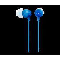 Sony MDR-EX15APLI Ελαφριά ακουστικά-ψείρες με Handsfree - Blue