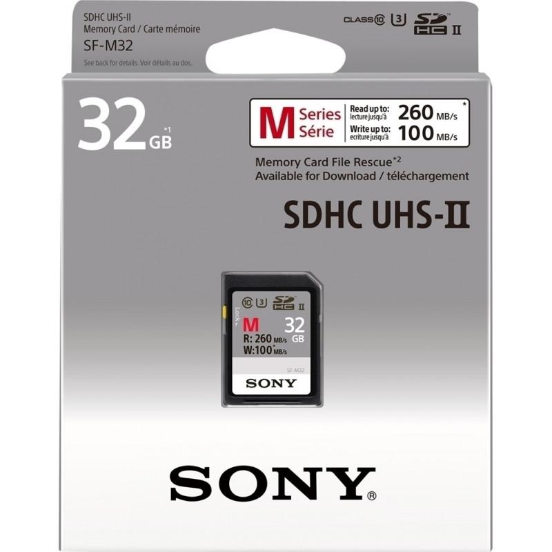 Sony SF-M32 Κάρτα μνήμης SDHC 32GB U3