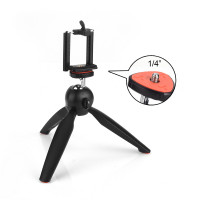 YUNTENG YT-228 Mini Tripod + Mobile holder