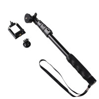 Yunteng YT-188 Universal Monopole with Mobile Phone Bracket and GoPro Tripod Mount