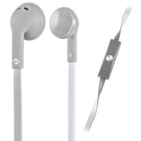 Meliconi MySound SpeakFlat Earphones with microphone Grey [497452]