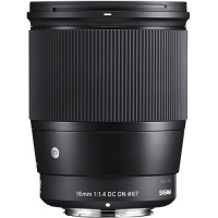 Sigma 16mm f/1.4 DC DN Contemporary Lens for Canon EF-M [402971]