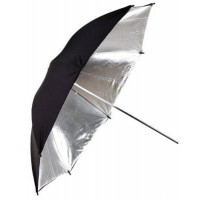 oem -IRiSfot Ομπρέλα Ανάκλασης Black/Silver 83cm [YR-56]