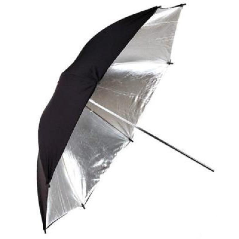 oem -IRiSfot Ομπρέλα Black/Silver 83cm