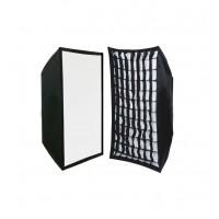 OEM Softbox με Grid για φλας 50X70cm Bowens Mount