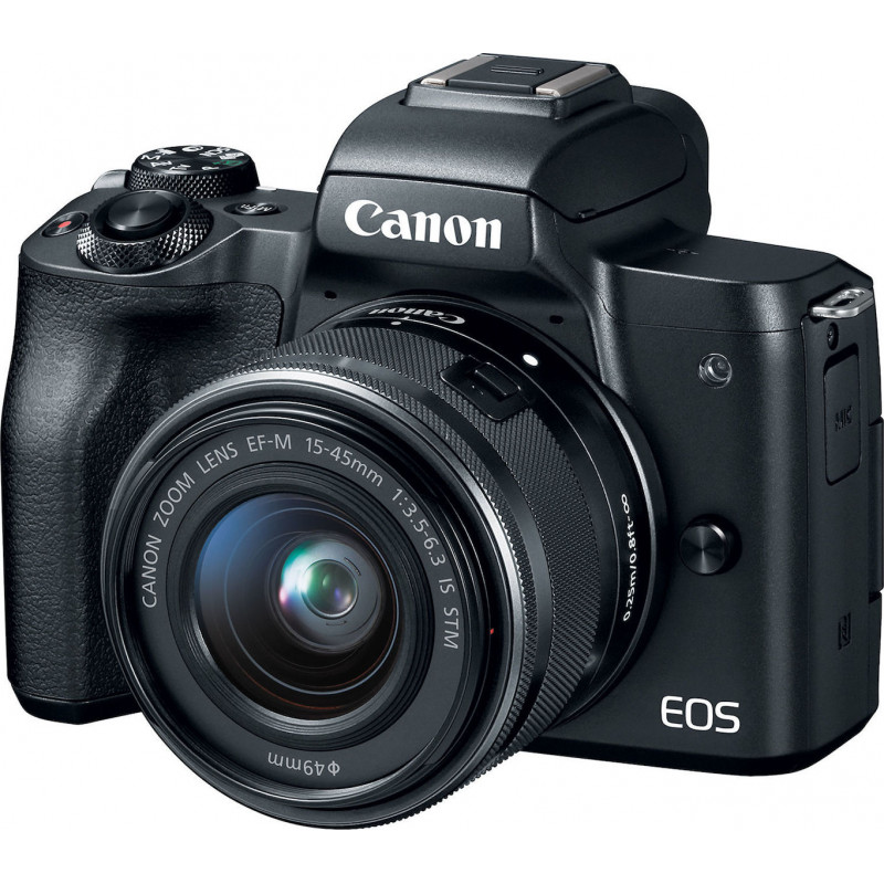 Canon EOS M50 Kit EF-M 15-45mm IS STM Black