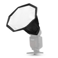 OEM Mini Octagonal Flash Diffuser for Speedlight 18cm