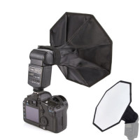 OEM Mini Octagonal Flash Diffuser for Speedlight 28cm
