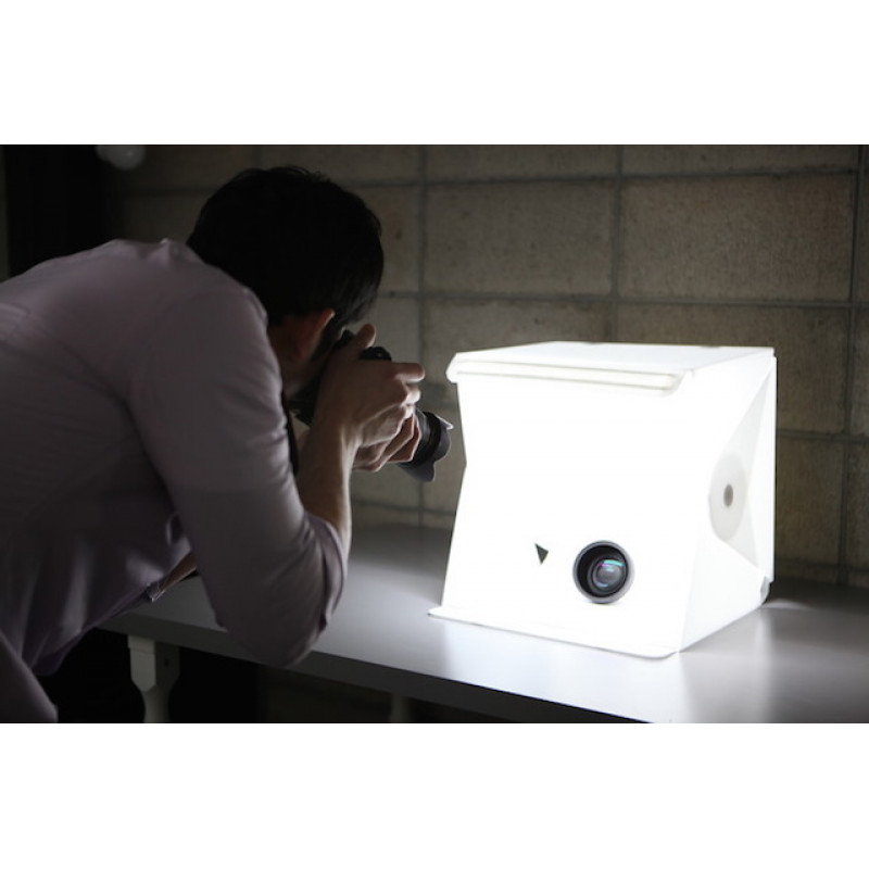 LightRoom Photo Studio Box With LED 40x40cm
