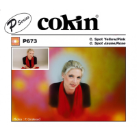Cokin P673 Spot 2 Colors Yellow/Pink P Series Filter [CP673]