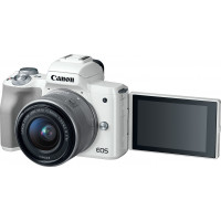 Canon EOS M50 Kit EF-M 15-45mm IS STM White ( Άμεση Έκπτωση -40€ )