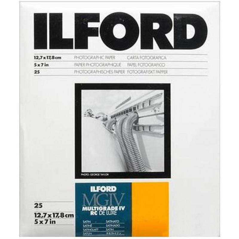 Ilford MGIV RC De Luxe Satin 13x18 25 τεμάχια