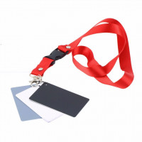 AccPro 3-in-1 Compact White Balance Set With Neck Strap [LS-02]
