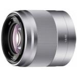 Sony Lens E-mount 50mm f/1.8 OSS - Silver  [SEL50F18]