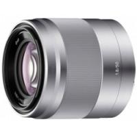 Sony Lens E-mount 50mm f/1.8 OSS - Silver  [SEL50F18] (Cashback 25,00€)