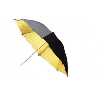 Mettle Ομπρέλα Black/Gold 100cm
