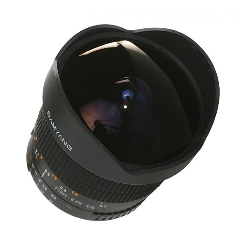 Samyang 8mm T3.8 Asph IF MC Fisheye CS II VDSLR  for Canon