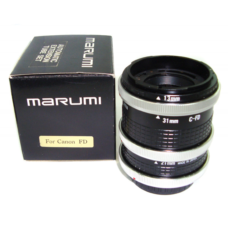 Marumi automatic extension tube for Canon FD used
