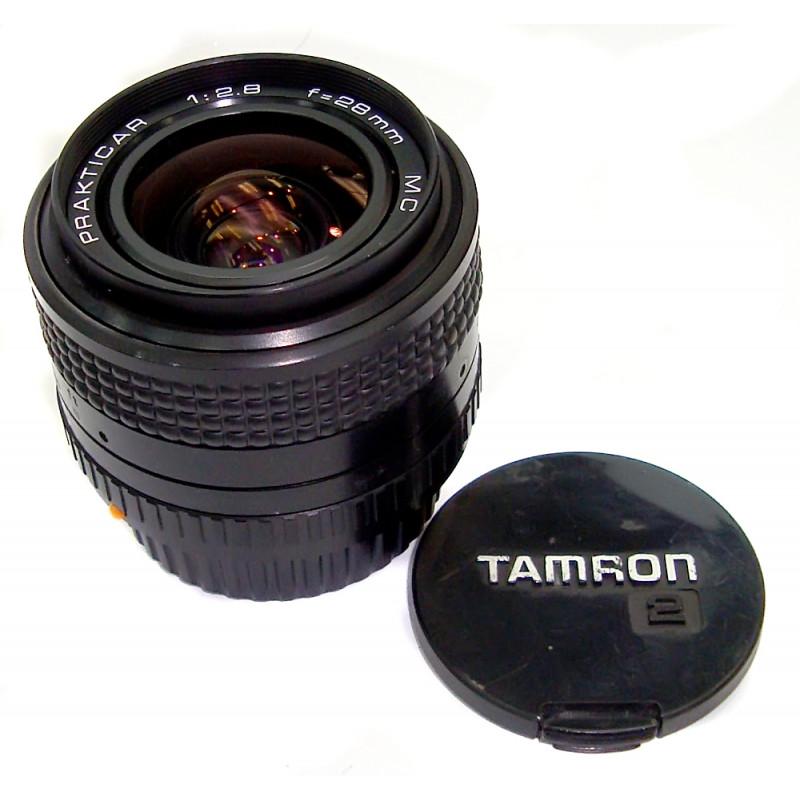 Prakticar 28mm f/2.8 used for Praktica MF