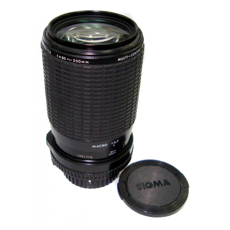 Sigma 80-200mm f/4.5-5.6 for Minolta used