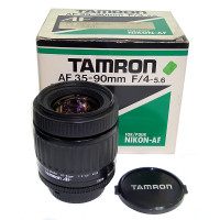 Tamron AF 35-90mm f/4-5.6 for Nikon used