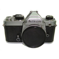 Nikon FM body used