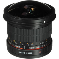 Samyang 8mm f3.5 UMC Fish-eye CS II for Canon