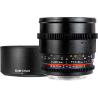 Samyang  85mm T1.5 AS IF UMC VDSLR ( for Nikon F )