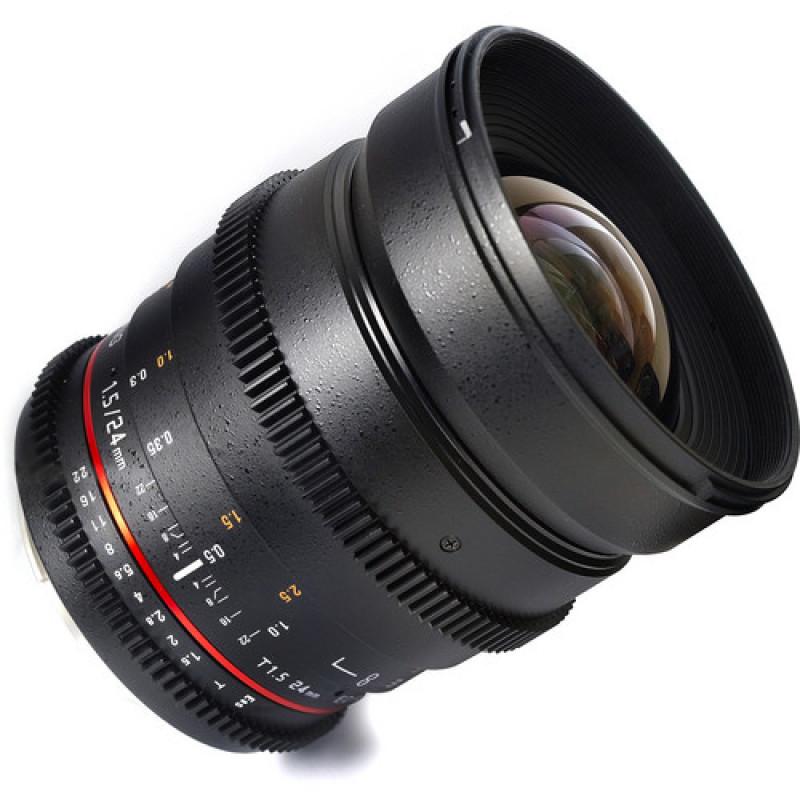 Samyang 24mm T1.5 ED AS UMC VDSLR for Nikon